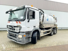 Mercedes Actros 2544 L 6x2 2544 L 6x2, Lift-/Lenkachse, LEISTIKOW Saugwagen ca. 13m³ used sewer cleaner truck