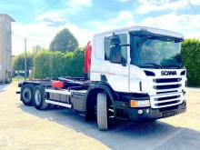 Kamion Scania P 450 6x2 SCARRABILE BALESTRATO ANTERIORE E NEUMA vícečetná korba použitý