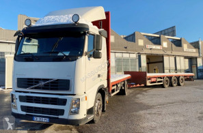 Volvo flatbed trailer truck fh440