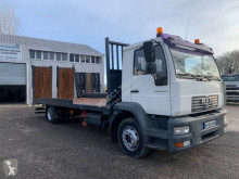 MAN LE 14.220 truck used heavy equipment transport