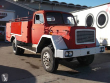 Truck used fire engine/rescue vehicle