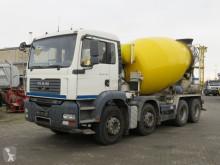 MAN concrete mixer truck TGA TG-A 35.360 8x4 Betonmischer Schalter, Intermix9m³