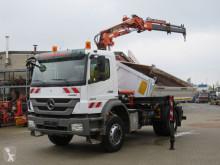 Vrachtwagen Mercedes Axor 1829 K 2-Achs Kipper Kran nur 204TKM Topzustand tweedehands kipper