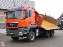 Camión volquete volquete trilateral MAN TGS TG-S 6x6 BL 3-Achs Allradkipper Bordmatik li.