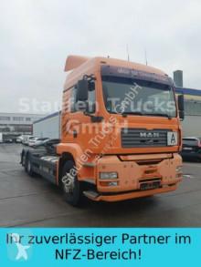 Camion multibenne MAN TGA 26.430 Abroller Retarder MEILLER grüne Plak
