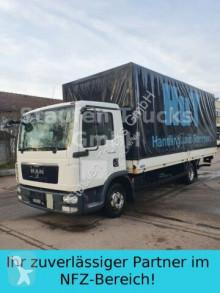 MAN tarp truck TGL 8.180 Prits./Pl. TÜV/HU NEU Klima LBW Euro5