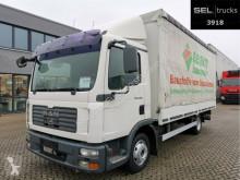 MAN TGL 8.180 4x2 BL / German truck used tarp
