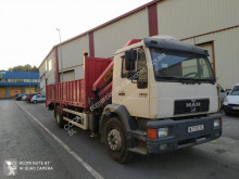 MAN 18.224 truck used heavy equipment transport