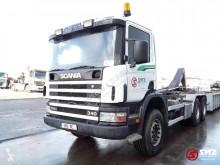 Camion Scania C transport containere second-hand