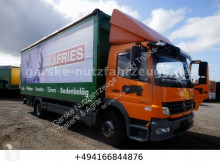 Mercedes Atego 1222 Wingliner Hydraulisch truck used beverage delivery flatbed
