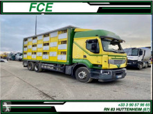 Ciężarówka Renault Premium do transportu trzody powypadkowa