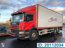 Scania furgon teherautó P
