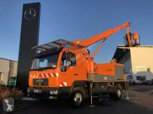 Camión plataforma elevadora MAN LE 8.180 4x2 Hubsteiger Wumag WT220 Klima Standh