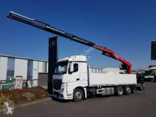 Ciężarówka Mercedes Actros 2745 L 6x2 Baustoffpritsche + Kran platforma burtowa używana