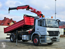 Mercedes Axor 1823 Kipper 4,50m + Kran*Topzustand truck used tipper