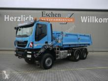 Camion Iveco AD 260TW41, 6x6, Blatt, EUR6,Carnehl 3-Seiten benne occasion