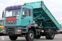 MAN TGA 18.310 truck used three-way side tipper