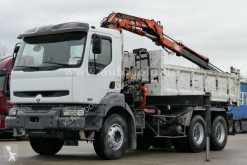 Renault Kerax 370 DCI truck used two-way side tipper