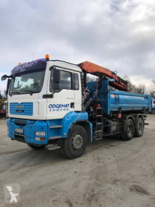 MAN TGA 32.400 truck used two-way side tipper