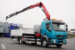 Camião Volvo FL / 240 E 5 / SKRZYNIOWY + HDS / HMF 1220 K 5 estrado / caixa aberta usado