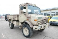 Camion plateau ridelles Unimog U 1300 L 435 4X4 2t KLIMA *-OLDTIMER-* AHK