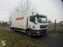 MAN tipper truck 15.240 Koffer+Ladebordwand, Klima, TÜV 11/2021