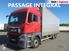 MAN TGX 26.480 6X2-2 BL truck used tarp