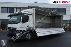 Camion Mercedes Antos 2543 LL Ewers- Schwenkwandaufbau plateau brasseur occasion