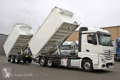 Mercedes cereal tipper trailer truck 2545 L Getreidekipper-Zug Kempf Kompressor