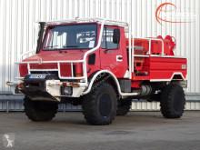Camion Mercedes Unimog 1550L37 Unimog U1550 L (437) Benz, SIDES CCF2000 ltr. - Expeditievoertuig, Camper pompiers occasion