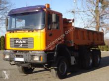 Camion MAN FE460A 6x4 EURO3 Dreiseitenkipper mit Bordmatik benne occasion