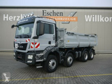 MAN three-way side tipper truck TGS 35.420 8x4BB, Meiller 3Seiten Bordmatik, AHK