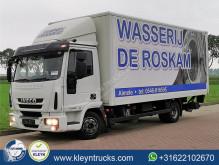 Teherautó Iveco Eurocargo használt furgon
