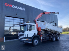 Scania C truck used three-way side tipper