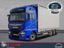 MAN tarp truck TGX 26.500 6X2-4 LL Schiebeplane Edscha Vorrüstung