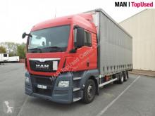 MAN tarp truck TGX 26.480 6X2-2 BL avec remorque