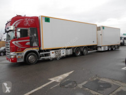 Scania R R500 6X2 E RIMORCHIO OMAR 20W69P trailer truck used refrigerated