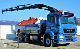 Camión caja abierta MAN TGS 26.440 Pritsche 6,30 m+Kran/FUNK*Topzustand!