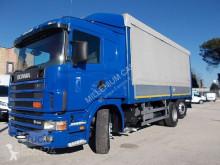 Camion Scania R Scania - SCANIA 164-480 CENTINATO MT 6.50 PEDANA - Centinato alla Francese centinato alla francese usato