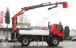 Camión Iveco 140E18 4x4 PALFINGER PK 16502 DRILL Kran Cran caja abierta usado