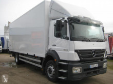 Mercedes Axor 1824 truck used plywood box