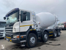 Scania P 380 truck used concrete mixer