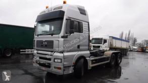 MAN hook arm system truck TGA 26.530