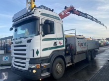 Scania R 500 truck used flatbed