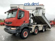Camión Gancho portacontenedor Renault Kerax Kerax 450 8x4 Mobas 25t Hakengerät + Container