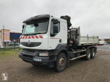 Renault hátra és egy oldalra billenő kocsi teherautó Kerax 430.26