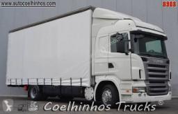Kamión Scania R 380 plachtový náves ojazdený