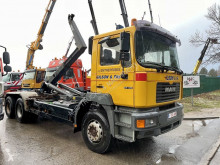MAN 27.414 truck used hook arm system