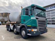 Scania betonkeverő beton teherautó G410 8x4 Euro 6 Betonmischer Intermix 9m3