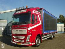 Volvo FH460 6x2 Schuifzeilen Hefdak Kippentransport Liftas en Stuuras Euro 5 truck used tautliner
